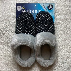 Isotoner Women's Slippers Size Medium 7.5-8. NWT